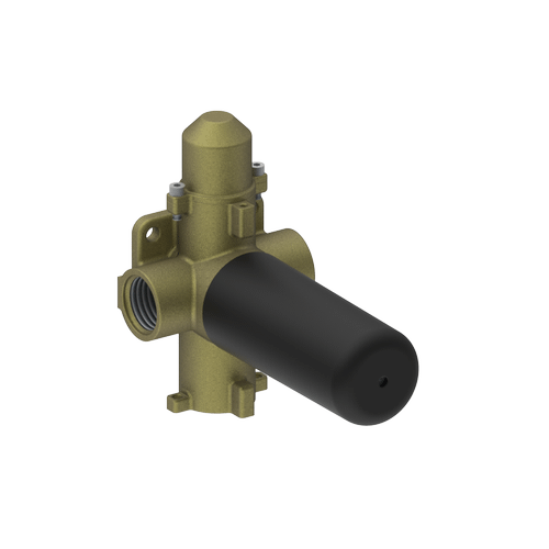 """M-series - 3/4""""concealed diverter with 2 outlets and volume control valve - rough"""