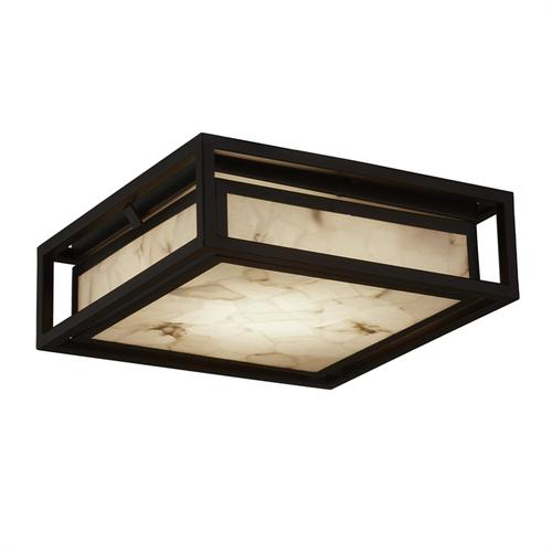 "12"" LED Outdoor Bayview Flush-Mount"