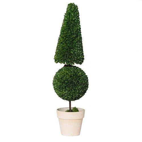 Cone & Ball Topiary,Large