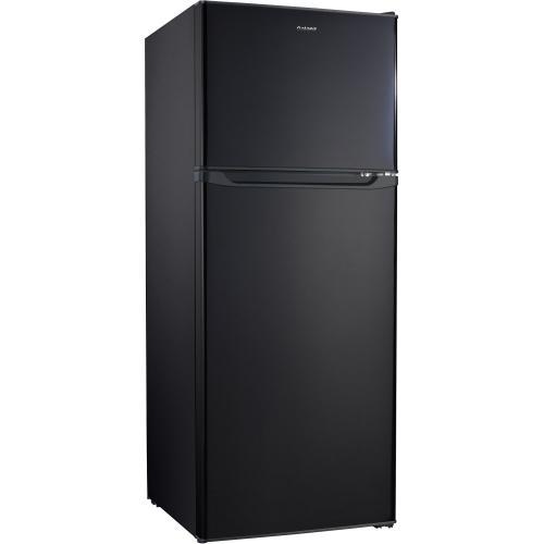 Galanz 10 Cu Ft Top Mount Refrigerator in Black