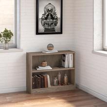 Universal Bookcases 2 Shelf Bookcase - Rustic Gray