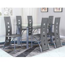 Echo Grey Dining Table Base