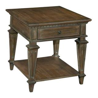 Turtle Creek Rectangular Drawer End Table