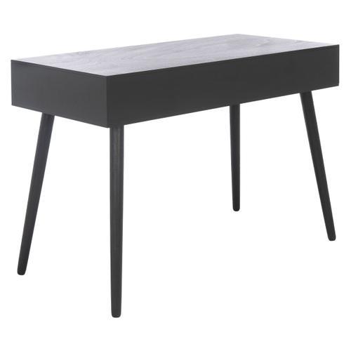 Remy 1 Drawer Writing Desk - Black