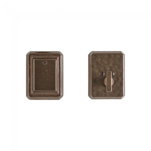 Hammered Dead Bolt - DB30490 Silicon Bronze Light