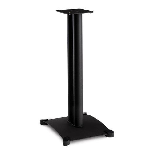Black Steel Series 26 inches tall for medium to large bookshelf speakers