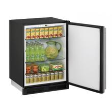 "24"" Solid Door Refrigerator Stainless Door, Field Reversible Hinge, Discontinued Model / No Warranty / New in Box / No Returns, Exchanges, or Refunds, Pick Up Only, Linthicum, Md / ID: CNTR0013"