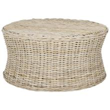 Ruxton Cocktail Ottoman - Natural Unfinished