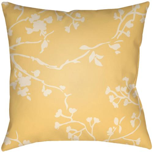 """Chinoiserie Floral CF-001 18""""H x 18""""W"""