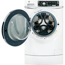 Closeout GE® ENERGY STAR® 4.5 DOE cu. ft. capacity RightHeight Design Front Load washer