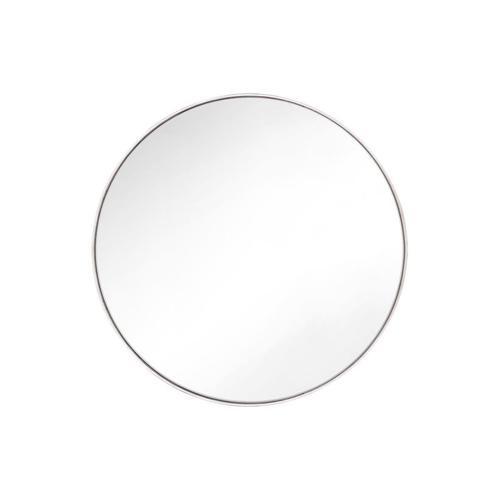 Kit Round Mirror Polished Nickel