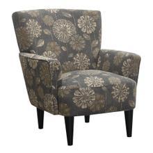 Flower Power Accent Chair Cascade Pewter