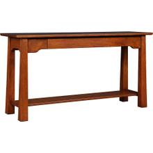 Oak Park Slope Console Table