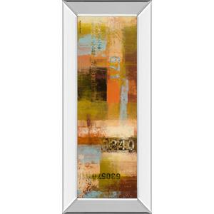 """""""Departures Il"""" By Michael Marcon Mirror Framed Print Wall Art"""