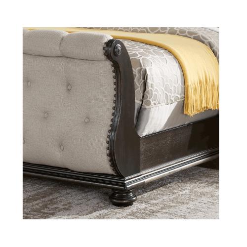Gallery - Rhapsody Sleigh 4-Piece Queen Set(Q Bed/NS/Dresser/Mir)