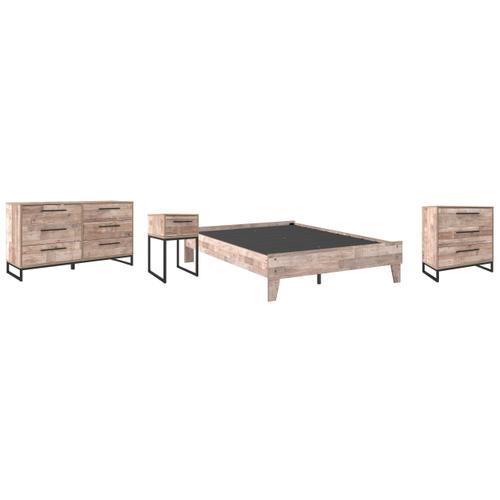 Ashley - Full Platform Bed With Dresser, Chest and Nightstand