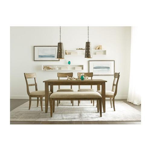 "Gallery - 60"" Rectangular Leg Table"