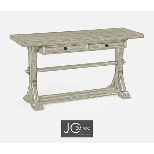 Rustic Grey Serving Table
