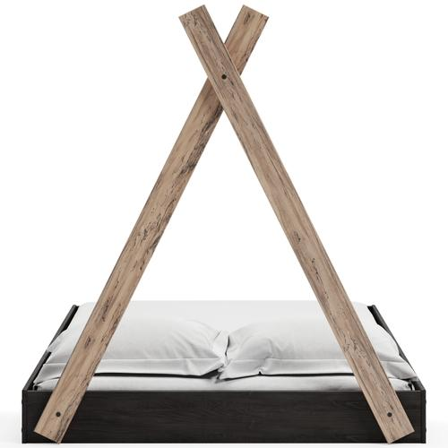 Signature Design By Ashley - Piperton Full Tent Complete Bed In Box