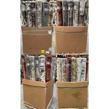 See Details - Assorted Woven 5X8 - 40 pieces per recycled Gaylord box