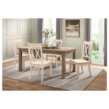 See Details - 5PC Dining Table Set