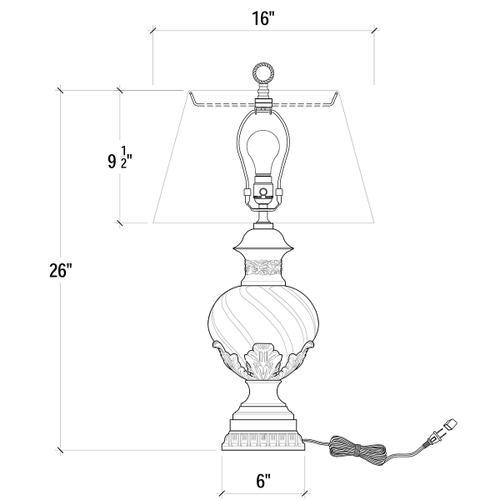 Gallery - Versailles Table Lamp