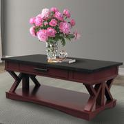 AMERICANA MODERN - CRANBERRY Cocktail Table Product Image