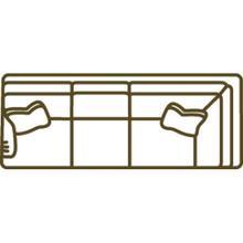 1074-23lf Cornering Sofa