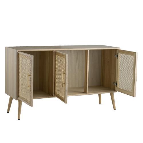 Three-Door TV Cabinet