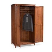 See Details - Wardrobe with Hang Rod