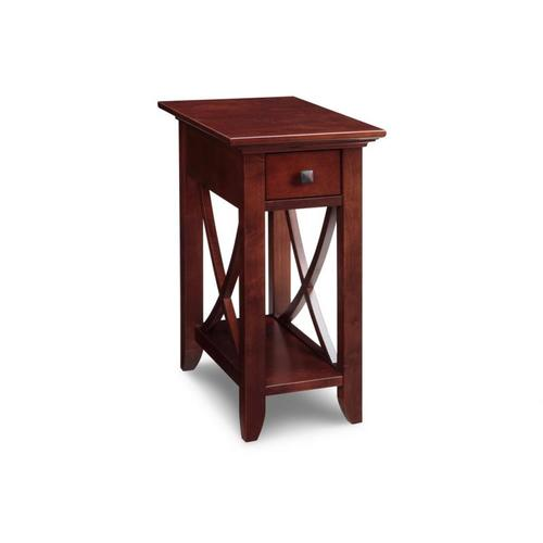 - Florence Chair Side Table No Drawer With Shelf