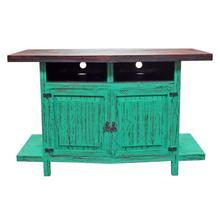 Aqua Scrap TV Stand 55wx36hx20d