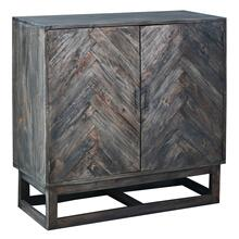 Herringbone Cabinet - Raftwood Brown