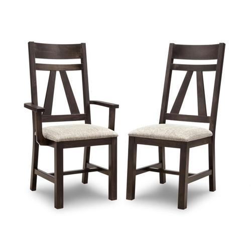 - Algoma Arm Chair With Wood Seat