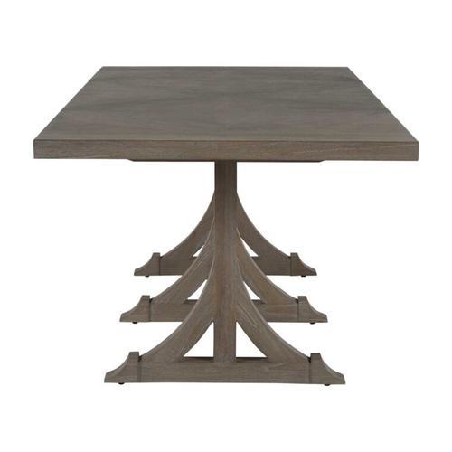 Adams Dining Table - Gray