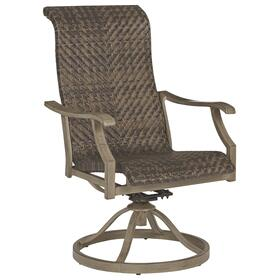 Windon Barn Swivel Chair (2/CN) Brown