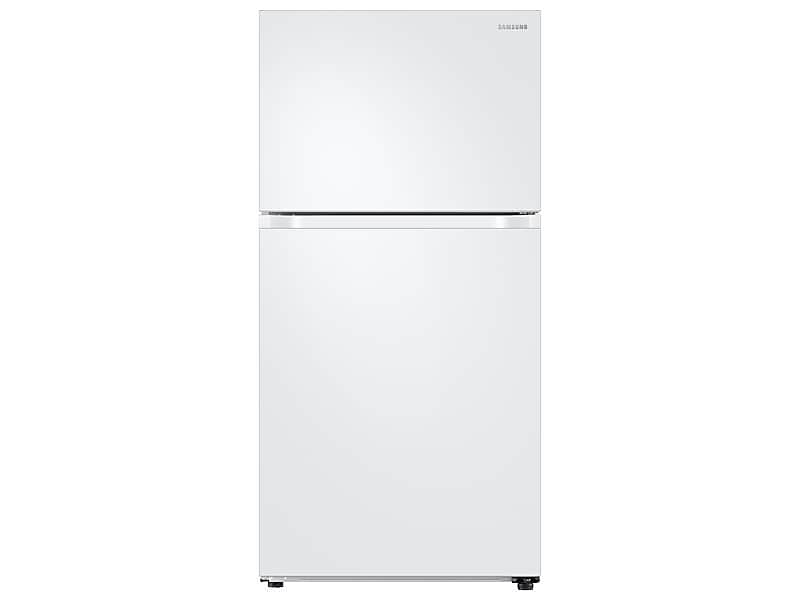 Samsung21 Cu. Ft. Top Freezer Refrigerator With Flexzone™ And Ice Maker In White