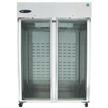 See Details - Freezer, Two Section Upright, Full Glass Door
