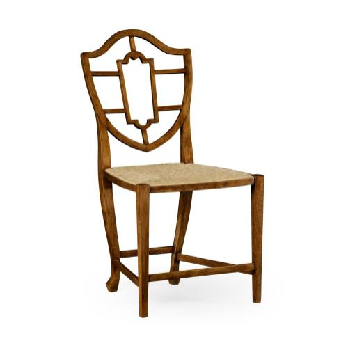 Aveburn Grey Fruitwood Side Chair