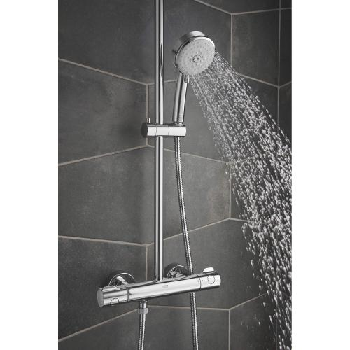 Product Image - Tempesta Thermostatic Shower System,