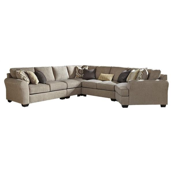 See Details - Pantomine 5-piece Sectional With Cuddler