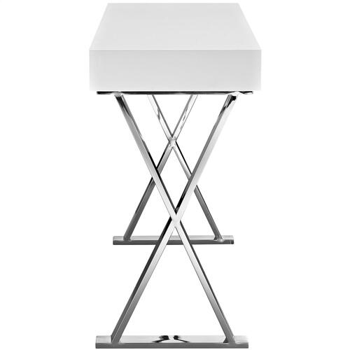 Modway - Sector Console Table in White