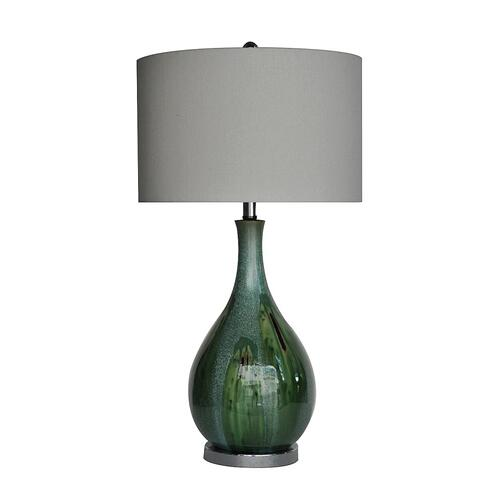 """Crestview Collections - Sea Scape Table Lamp 30""""Ht"""