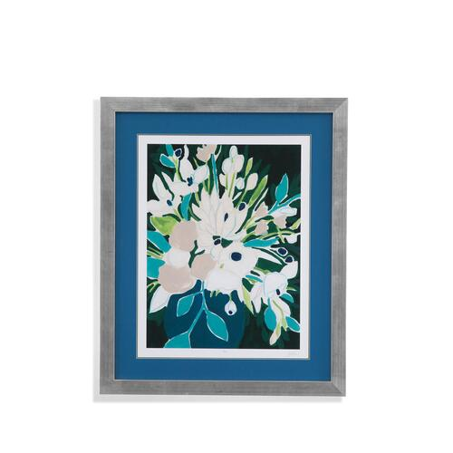 Bassett Mirror Company - Blue Blooming Sketch I