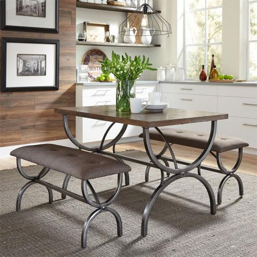 3 Piece Rectangular Table Set