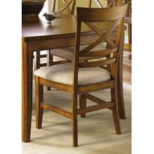 View Product - X Back Upholstered Side Chair