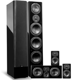 Prime Pinnacle Surround System - Piano Gloss Black