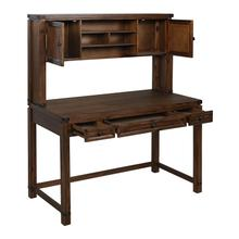 Hutch for Baton Rouge Desk Btd2937 In Walnut Finish