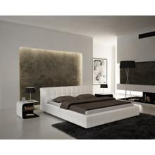 Modrest S612 - Contemporary Eco-Leather Bed