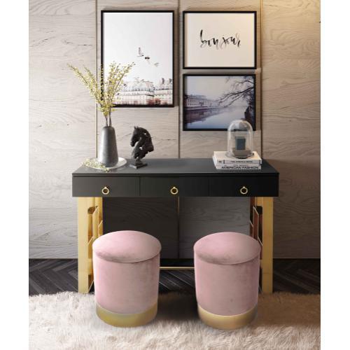 Tov Furniture - Pri Blush Storage Ottoman